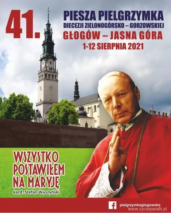 Plakat 41 Piesza Pielgrzymka Głogowska