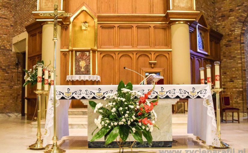 Komunikat dotyczący mszy św. i nabożeństw w naszym kościele