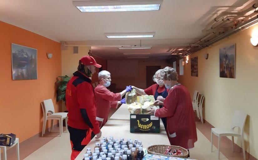 Poszukujemy wolontariuszy do rozwożenia posiłków seniorom!