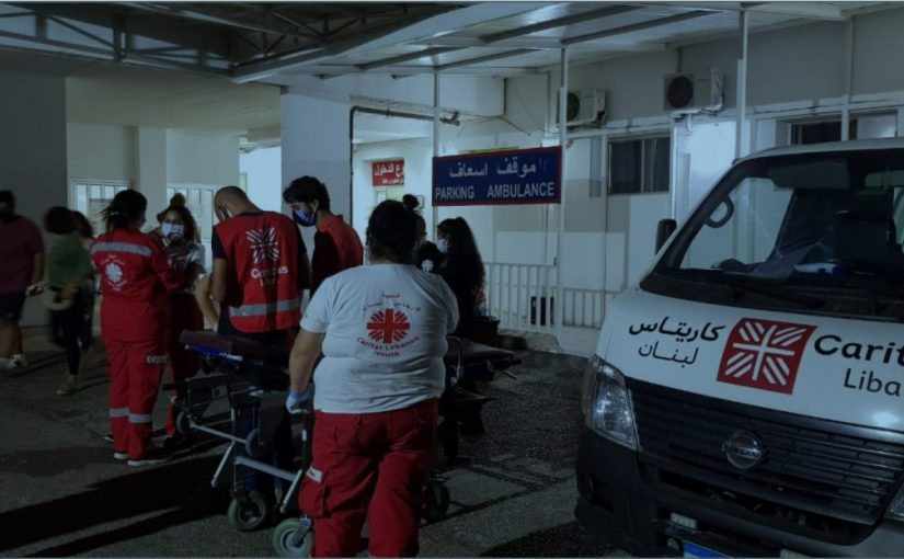 Pomoc dla Bejrutu